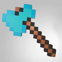 Алмазный ТОПОР по мотивам МАЙНКРАФТ | Minecraft ORIGINAL ПОЛНОРАЗМЕРНЫЙ