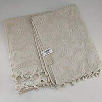 Махровое полотенце банное с кисточками (70х140), Pupilla