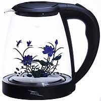 Электрочайник стекло 1.8л OCTAVO  чайник электрический