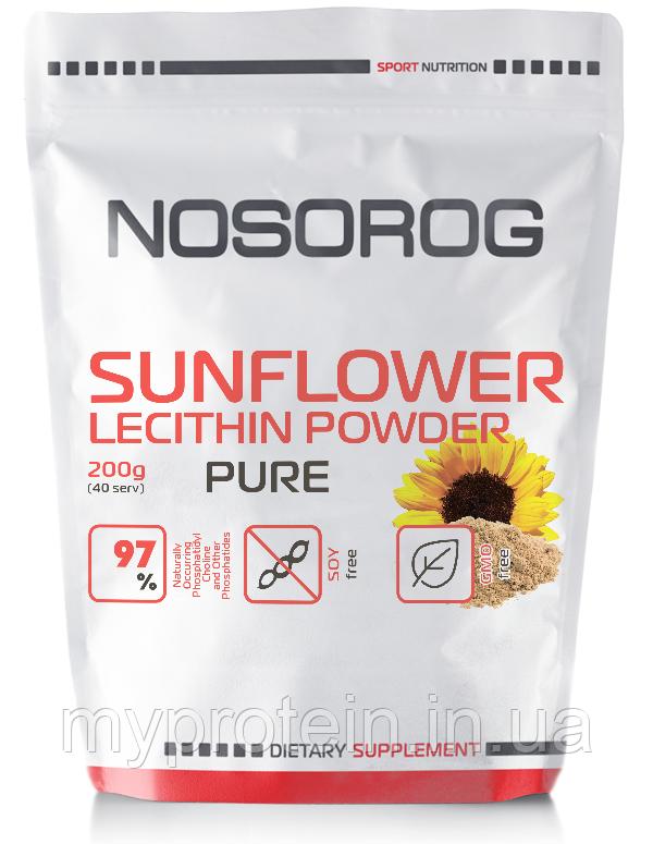 NOSOROGАктивное долголетиеSunflower Lecithin Powder200 g
