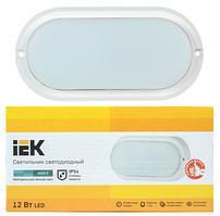Светильник LED ДПО 4012 12Вт 800lm IP54 4000K овал белый IEK