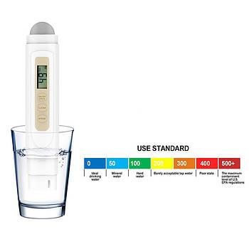TDS-метр (солемер, анализатор качества воды) + термометр TDS-3 New (2 в 1)