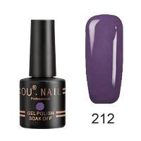 Гель-лак Ou Nail №212, 8 ml