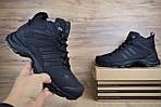Мужские зимние кроссовки Adidas Climaproof (черные), фото 7