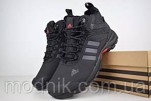 Чоловічі зимові кросівки Adidas Climaproof (чорні)