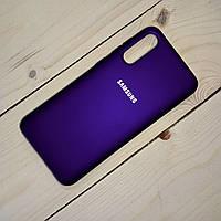 Силиконовый чехол Silicone Case Samsung Galaxy A50S (2019) Фиолетовый