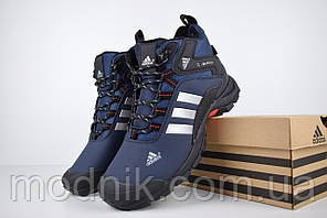 Чоловічі зимові кросівки Adidas Climaproof (сині)