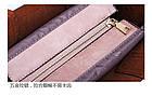 Набор женских сумок 3 предмета с брелком коричневого цвета 01186, фото 6