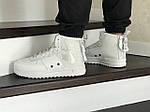 Мужские кроссовки Nike Air Force 1 (белые), фото 5