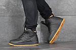 Мужские зимние кроссовки Nike Lunar Force 1 (черно-коричневые), фото 3