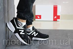 Чоловічі кросівки New Balance 574 (чорно/білі)
