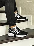 Мужские кроссовки New Balance 574 (черно/белые), фото 2