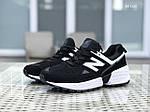 Мужские кроссовки New Balance 574 (черно/белые), фото 3