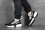 Мужские кроссовки New Balance 574 (черно/белые), фото 4