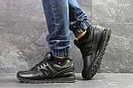 Мужские кроссовки New Balance 574 (черные) ЗИМА, фото 5