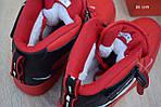 Мужские кроссовки Nike Air Force 1 LV8 High (красные) ЗИМА, фото 7