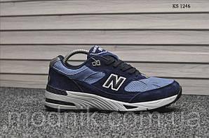 Мужские кроссовки New Balance 991 (синие)
