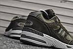 Мужские кроссовки New Balance 991 (зеленые), фото 5