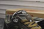 Мужские кроссовки New Balance 991 (зеленые), фото 6