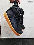 Мужские кроссовки Nike SF Air Force 1 Mid (черные), фото 3
