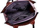 Набор женских сумок 3 предмета с брелком розового цвета BA-2, фото 2