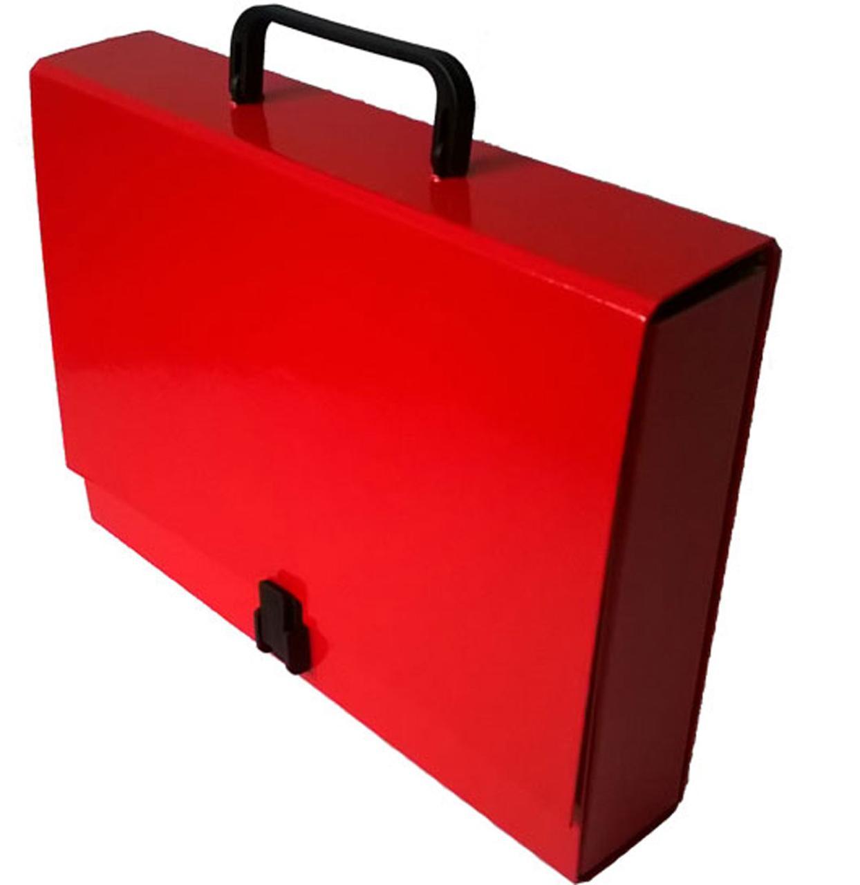 Портфель на замке, 60 мм, А4, PP-покрытие