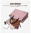 Набор женских сумок 3 предмета с брелком розового цвета BA-2, фото 8
