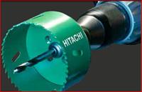 23 Профессиональные твердосплавные коронки торговой марки Hitachi HiKOKI