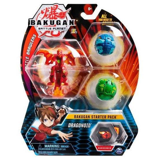 Bakugan.Battle planet: набор 3 бакугана Драгоноид (Dragonoid)