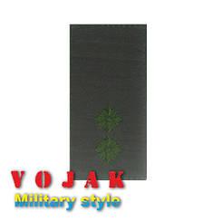 Погон ЗСУ Лейтенант (тк.олива) 10*5см (4009-L)