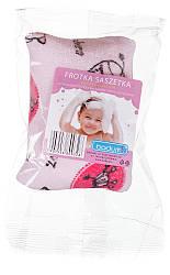 Для купания Badum Губка махровая с кармашком для мыла  розовая