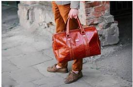 Дорожні сумки шкіряні