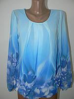 Женские шифоновые блузки в одном размере