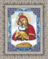 """Набор для вышивания крестом""""Икона Пресвятой Богородицы Почаевской"""" №325 """"Чарівна Мить"""""""