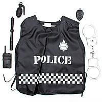 Карнавальный игровой набор полицейского - 45*37 см, с аксессуарами (513078)