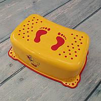 """Подставка для ног детская """"Уточка"""" с антискользящей резиной, Maltex"""