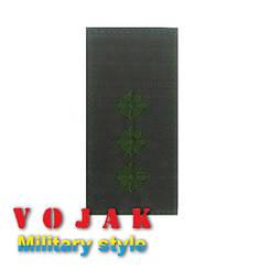 Погон ЗСУ Старший лейтенант (мк.олива) 10*5см (4010-L)