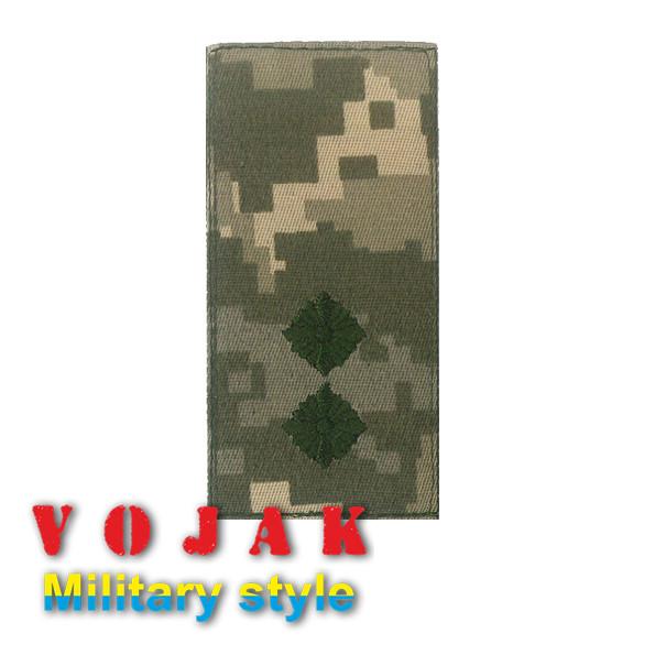 Погон ЗСУ Лейтенант (тк.NDU) 10*5см (3876)
