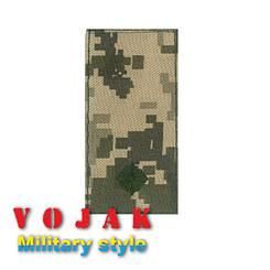 Погон ЗСУ Молодший лейтенант (тк.NDU) 10*5см (3877)