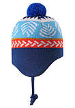 Демисезонная шапка-бини для мальчика Reima Luumu 518524-6761. Размеры 46 - 52., фото 3