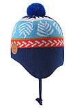 Демисезонная шапка-бини для мальчика Reima Luumu 518524-6761. Размеры 46 - 52., фото 4