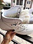Мужские зимние кроссовки Nike Lunar Force 1 (белые), фото 3