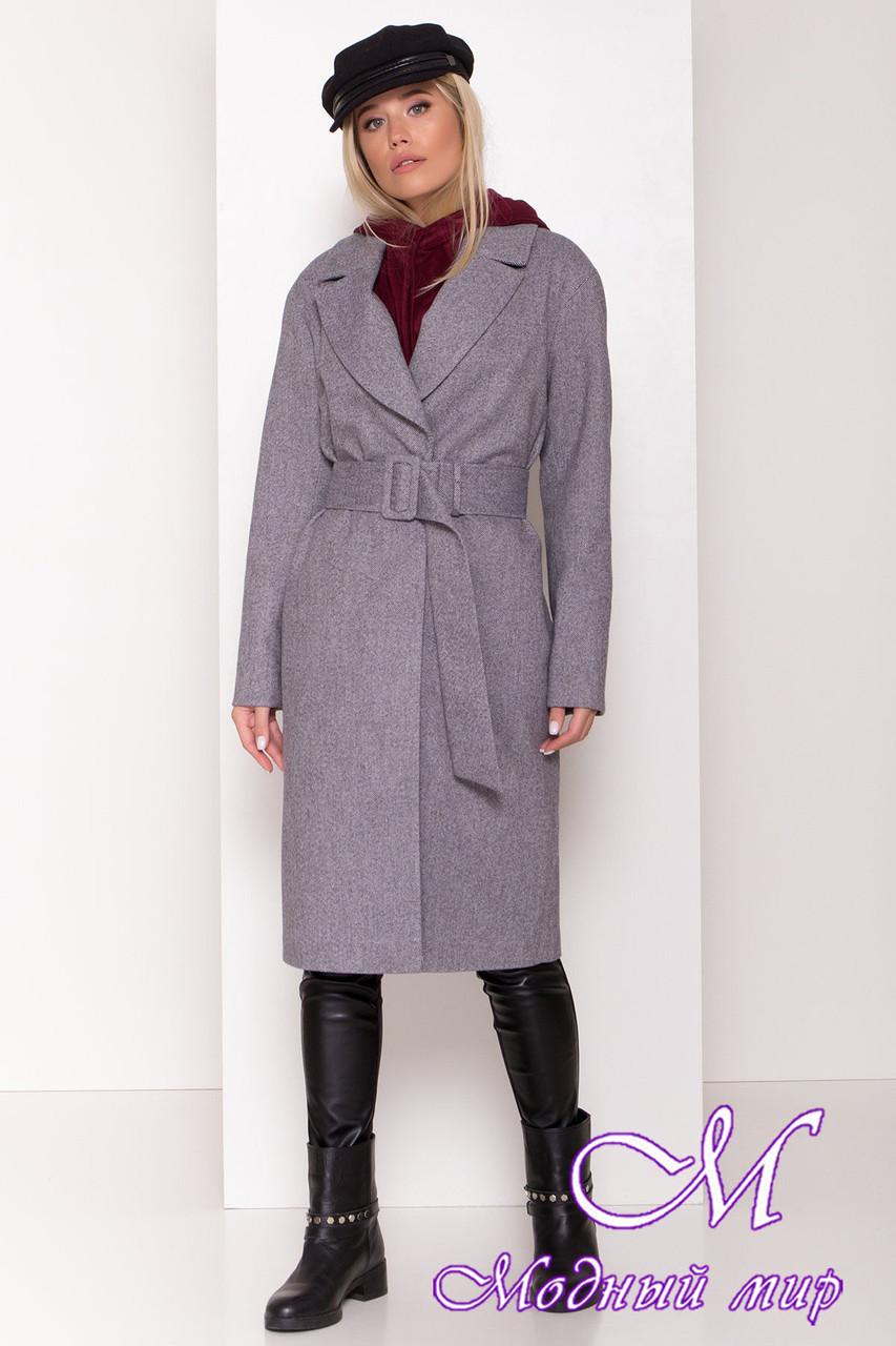 Стильное демисезонное пальто женское (р. S, M, L) арт. С-80-30/44103