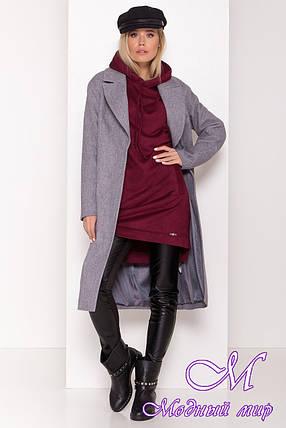 Стильное демисезонное пальто женское (р. S, M, L) арт. С-80-30/44103, фото 2