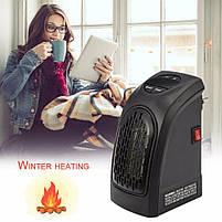 Обогреватель портативный керамический Handy heater (Хенди хитер) 400 Ватт с пультом, фото 3