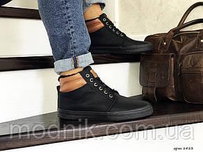 Чоловічі черевики Vintage (чорні) ЗИМА