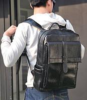 Стильный мужской рюкзак городской черного цвета
