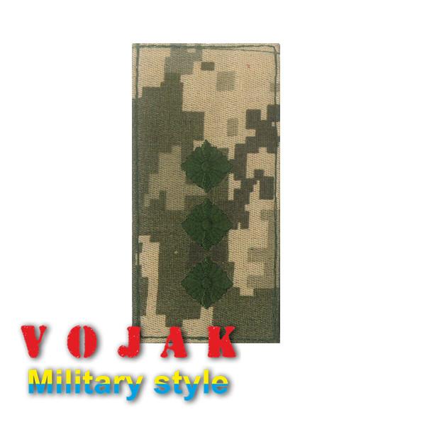 Погон ЗСУ Старший лейтенант (тк.NDU) 10*5см (3875)