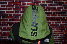 Кофта Supreme x The North Face SteepTech Green/black, фото 3