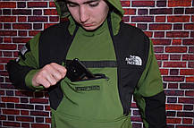 Кофта Supreme x The North Face SteepTech Green/black, фото 2